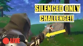 Silenced Weapons Only!!|Fortnite Battle Royale