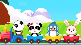 Baby Panda Learn New Words ❀  Animated Stickers ❀ Interactive & Fun ❀ Babybus Game for kids