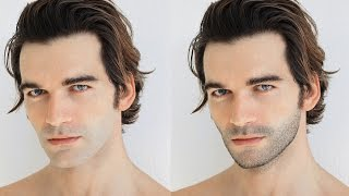 How to Create Facial Hair in Photoshop in few minutes