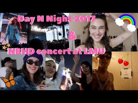 day n night fest & me at college~ devon lee carlson🌟