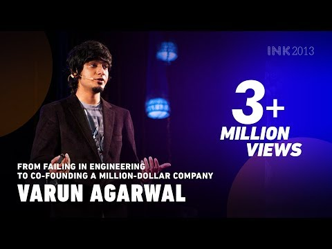 Varun Agarwal From failing in engineering to co founding a million dollar company