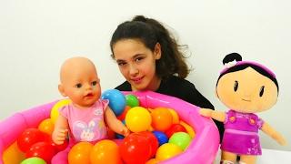Şila ile bebek bakma oyunu. 👶🍼🐤👼Eğitici video çocuklar için. #Kızoyunları