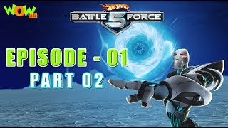 Hot Wheels Battle Force 5 - Starting Line - Episode 1-P2 - in Hindi