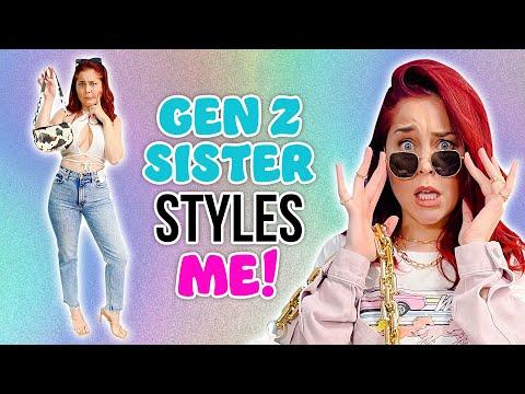 Millennial Follows Gen Z Sister s Fashion Advice 18 year age gap