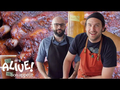 Brad and Babish Make Kombucha Miso BBQ Sauce It s Alive Bon Appétit