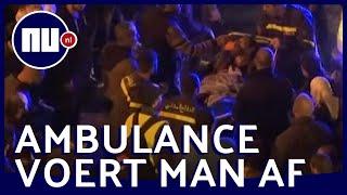 Man steekt zichzelf in brand tijdens demonstratie in Beiroet | NU.nl