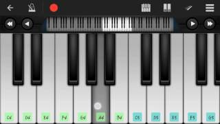 BAARISH || YAARIYAN || - Perfect piano tutorial -hd