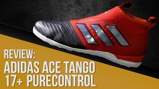 Zapatillas adidas ACE Tango 17+ Purecontrol fútbol sala // Street