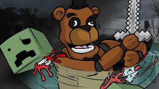 Freddy & Friends vs Minecraft Monsters - Survival #1 (Left 4 Dead 2 Mods Funny Moments)