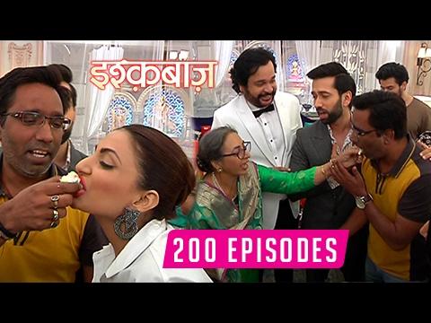 Ishqbaaz 200 Episodes Celebration | Cake Cutting | Shivaay | Anika | Tia