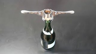 5 Champagne Bottle Openers You Never Knew Existed! Part 2