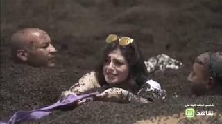 رد فعل منه فضالي بعد اكتشافها مقلب رامز فى رامز تحت الأرض