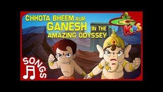 Chhota Bheem aur Ganesh in the Amazing Odyssey Track