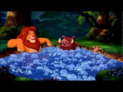 The Lion King 1 1 2 Hot Tub Scene