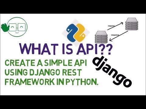 Xxx Mp4 What Is API Create Simple API Using Python Django REST Framework 3gp Sex