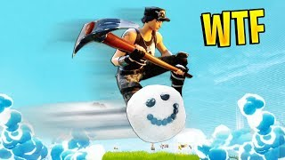 SNOWBALL RIDING | Fortnite Best Moments #9 (Fortnite Funny Fails & WTF Moments) (Battle Royale)