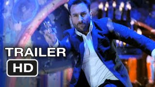 Agent Vinod Official Trailer #1 - Spy Thriller Movie (2012) HD