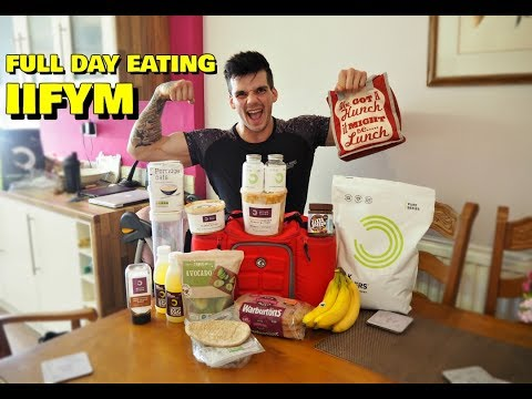 IIFYM Full Day Of Eating Men's Physique | Flexible Dieting