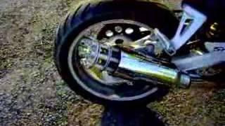 Tailgunner Exhaust on SV650