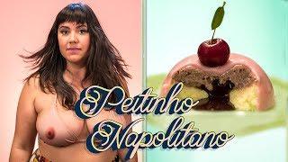 🍒 PEITINHO NAPOLITANO | DOMO DE CEREJA E BAUNILHA COM INTERIOR CREMOSO DE CHOCOLATE