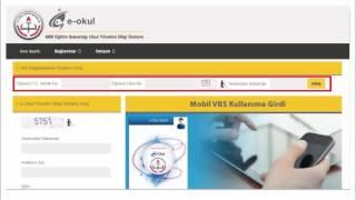 Milli Eğitim Bakanlığı e-Okul Sistemi