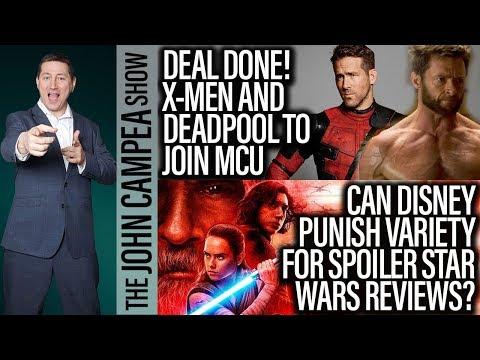 Xxx Mp4 X Men Fantastic Four Deadpool To Join MCU Star Wars Day The John Campea Show 3gp Sex