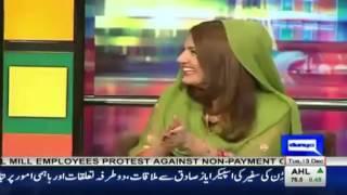 Vulgar answer by reham khan in mazaq raat