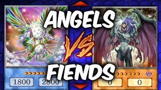 CYBER-ANGELS VS YUBEL FIENDS (Yugioh Competitive Duel)