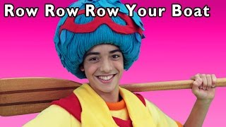 Row Row Row Your Boat and More | Happy River Adventure | Baby Songs from Mother Goose Club!