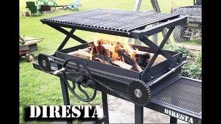 DiResta Scissor Lift BBQ