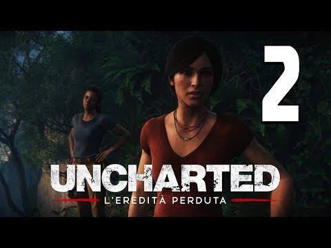 UNCHARTED: L'EREDITA' PERDUTA - LA ZANNA DI GANESH - Let's Play/Walkthrough ITA #2 (PS4 Pro)