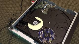 Repair of a Fancy Sony DVD Player with Super Audio CD