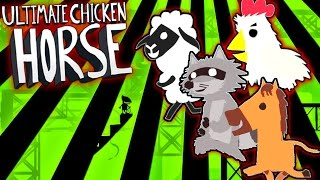 Dance Party!! Disco Disco! - Ultimate Chicken Horse - Funny Moments & FAILS