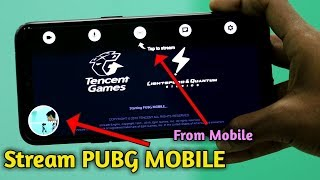 Stream PUBG MOBILE On YouTube From Android Phone🔥