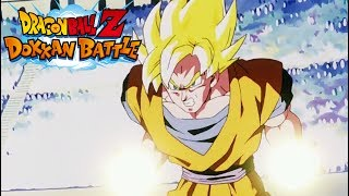 100% POTENTIAL! SUPER ATTACK 10 SSJ ANGEL GOKU SHOWCASE!! (DBZ: Dokkan Battle)