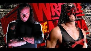 WWE WrestleMania Undertaker vs Kane