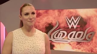Stephanie McMahon speaks about her visit to Dubai during the WWE Tryout Week