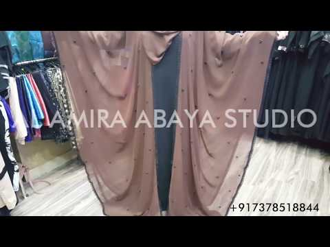 Xxx Mp4 DUBAI ABAYA Latest Abaya Collection Stylish Cape Farasha 2018 3gp Sex