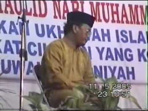 H Muammar ZA Haflah di cilegon thun 2005