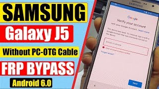 Samsung J5 Bypass Google Account || Without Pc || 2018