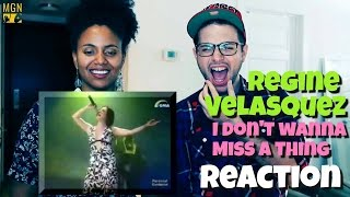 Regine Velasquez - I Don't Wanna Miss A Thing (Aerosmith) Reaction