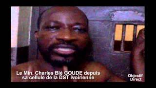IMAGES EXCLUSIVES DE CHARLES BLE GOUDE A LA DST IVOIRIENNE