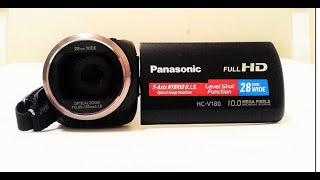 Panasonic HC V-180K Full HD Camacorder-A Review And Test in Different Shooting Conditions.