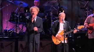 Paul Simon and Art Garfunkel -