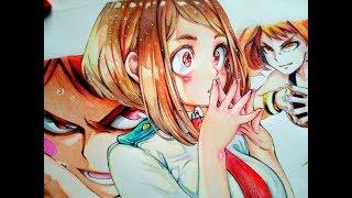 Uraraka Ochako -Speed Drawing  ( Boku no Hero Academia )