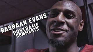 Rashaan Evans talks about Alabama