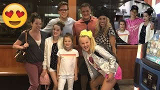 Hanging with JoJo Siwa, Rebecca Zamolo, Matt Slays, and Hayden Summerall 😍 (WK 327.6) | Bratayley
