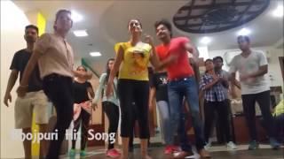 Chhalakata Hamro Jawaniya Bhojpuri Dance Practice