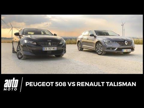 Nouvelle Peugeot 508 vs Renault Talisman laquelle choisir