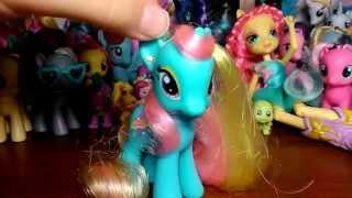 Обзор моей коллекции пони от Хасбро / My Little Pony от Hasbro  MLP:FIM